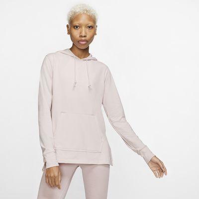Sudadera con capucha estilo túnica para mujer Nike Yoga