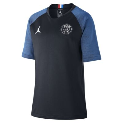 Jordan x Paris Saint-Germain Strike Older Kids' Short-Sleeve Football Top