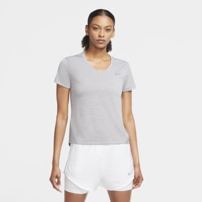 Nike Miler-løbetop til kvinder