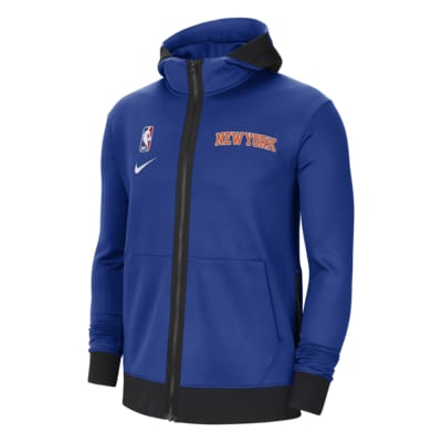 Sweat à capuche NBA Nike Therma Flex New York Knicks Showtime pour Homme