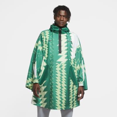 Nigeria Men's Woven Poncho