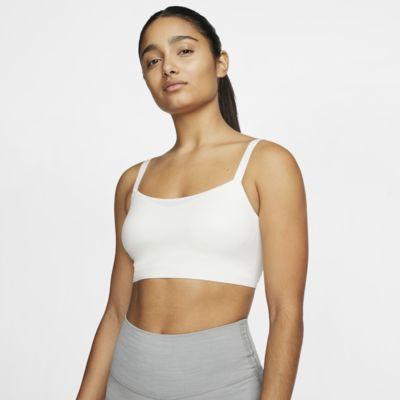 Damski stanik sportowy z jednoczęściową wkładką zapewniający lekkie wsparcie Nike Indy Luxe