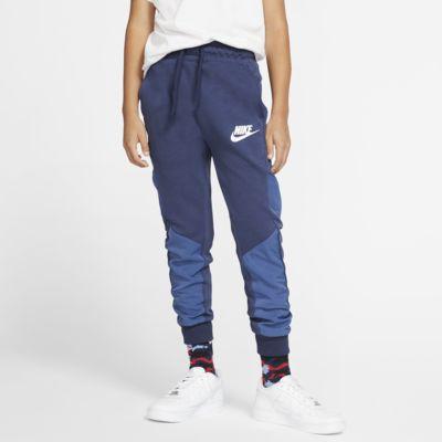 Nike Sportswear Winterized Tech Fleece bukse til store barn (gutt)