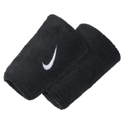 Muñequeras extraanchas Nike Swoosh