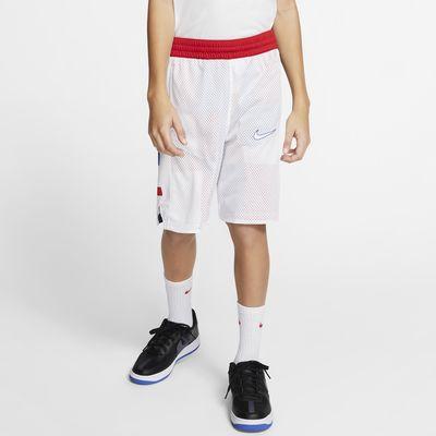 ナイキ エリート ジュニア (ボーイズ) リバーシブル バスケットボールショートパンツ