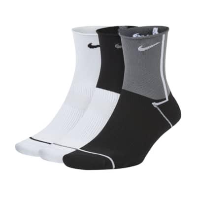 Nike Everyday Plus Lightweight Calcetines hasta el tobillo de entrenamiento (3 pares) - Mujer