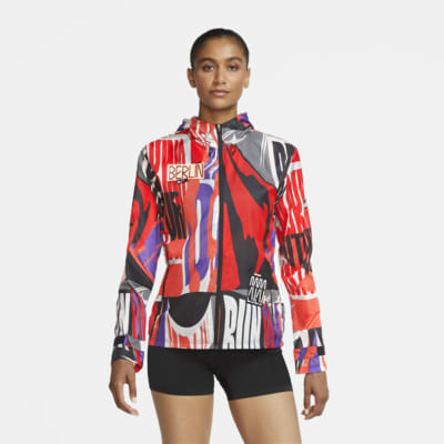 Nike Essential Berlin løpejakke til dame