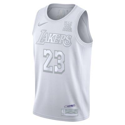 洛杉矶湖人队 (LeBron James) MVP Nike NBA Jersey 男子球衣