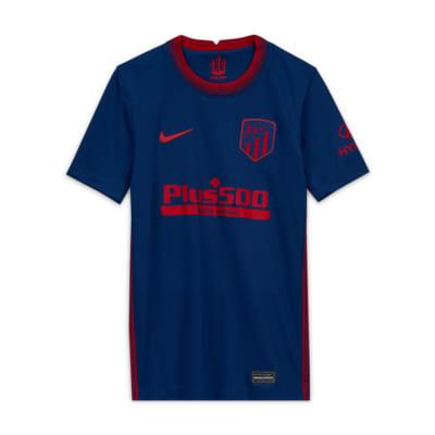 Atlético de Madrid 2020/2021 Stadium Away Older Kids' Football Shirt