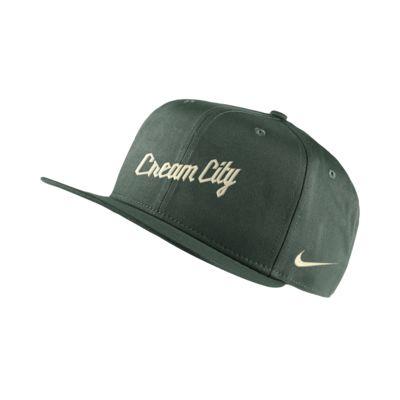 Milwaukee Bucks City Edition Nike Pro NBA Adjustable Hat