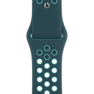 40mm Midnight Turquoise/Aurora Green Nike Sport Band - Regular