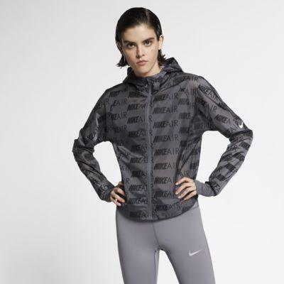 Chamarra de running con capucha para mujer Nike Air