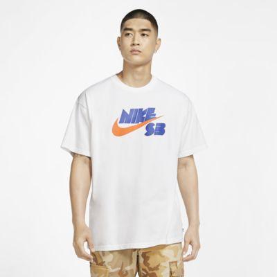 Męski T-shirt do skateboardingu z sezonowym logo Nike SB