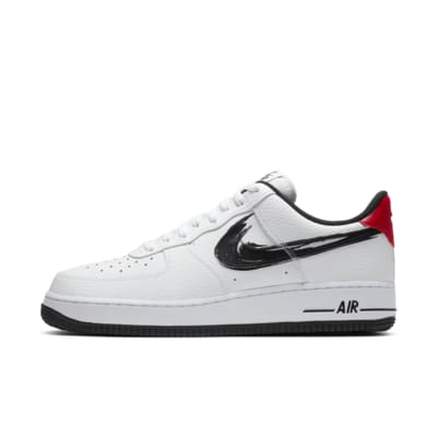 Men's Shoes Nike Air Force 1 07 da Uomo Marrone Nero in Lino LV8 ...