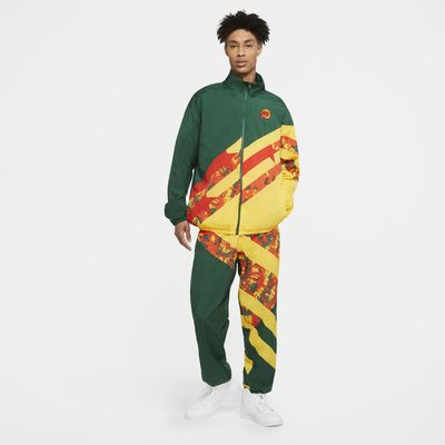 Nike Throwback Basketball-Web-Tracksuit für Herren
