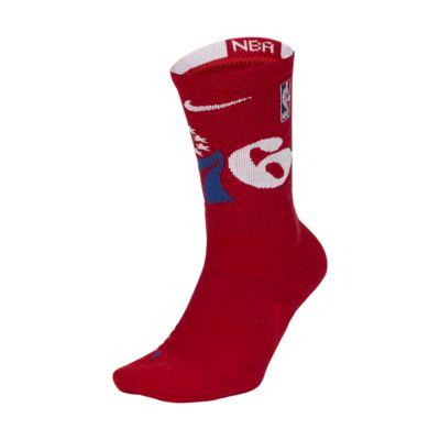 Philadelphia 76ers Nike Elite NBA Crew Socks