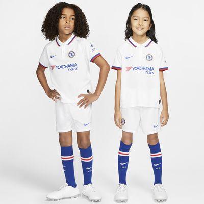 Fotbollsställ Chelsea FC 2019/20 Away för barn