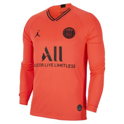 Camiseta de fútbol de manga larga para hombre Jordan x Paris Saint-Germain de visitante Stadium 2019/20
