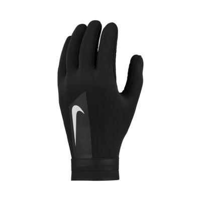 persona que practica jogging Alaska Carne de cordero  Nike HyperWarm Academy Football Gloves. Nike SA