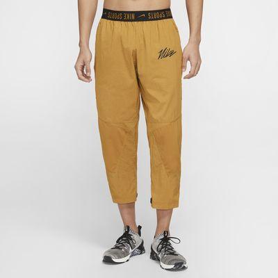 กางเกงเทรนนิ่งผู้ชายแบบทอ Nike