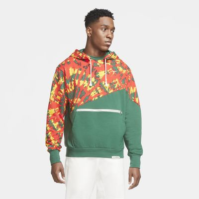 Hoodie pullover de basquetebol Nike Throwback para homem