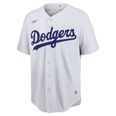 MLB Brooklyn Dodgers (Jackie Robinson) Men's Cooperstown Baseball Jersey