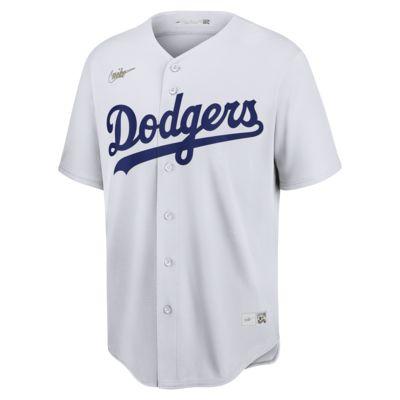 Camiseta de béisbol Cooperstown para hombre MLB Brooklyn Dodgers (Jackie Robinson)