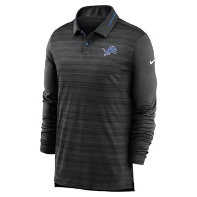 Nike Logo (NFL Lions) Men's Long-Sleeve Polo