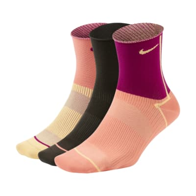 Nike Everyday Plus Lightweight Women's Training Ankle Socks (3 Pairs)