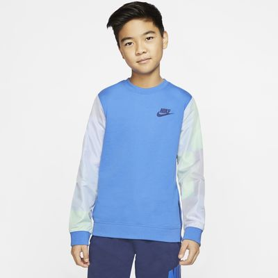 Nike Sportswear Big Kids' (Boys') Crew