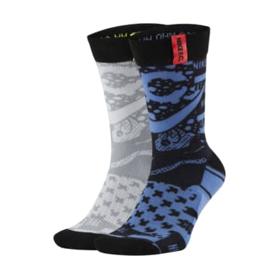 Chaussettes de football mi-mollet à motif Nike F.C. (2 paires)