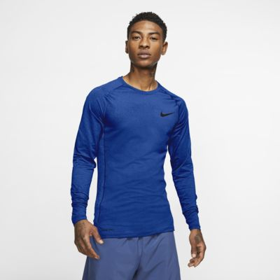 Nike Pro Men's Tight-Fit Long-Sleeve Top