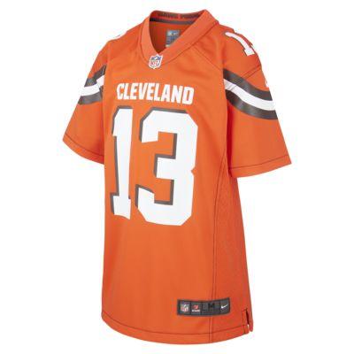 NFL Cleveland Browns (Odell Beckham Jr.) Older Kids' Game Jersey