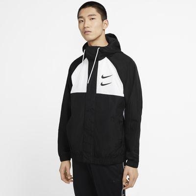 Nike Sportswear Swoosh 男子梭织连帽夹克