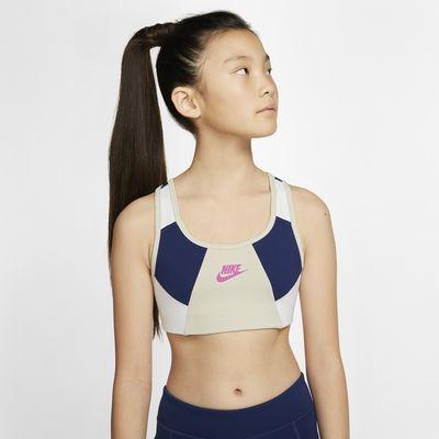 Nike Older Kids' (Girls') Sports Bra