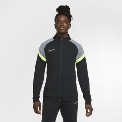 Maskinstrikket Nike Dri-FIT Academy-fodboldtræningsjakke til mænd