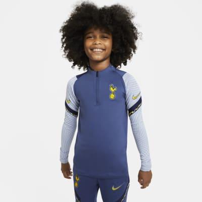 Haut d'entraînement de football à 1/4 de zip Tottenham Hotspur Strike pour Enfant plus âgé