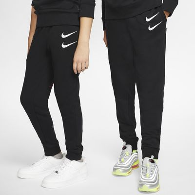 Byxor i frotté Nike Sportswear Swoosh för ungdom