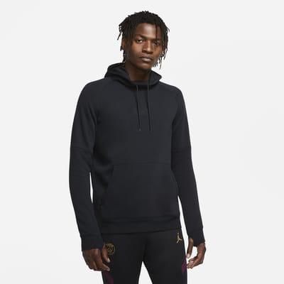 Paris Saint-Germain Men's Fleece Pullover Football Hoodie