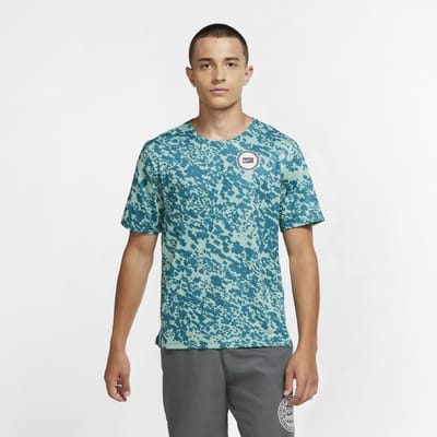 Nike Dri-FIT Miler Wild Run Men's Printed Running Top