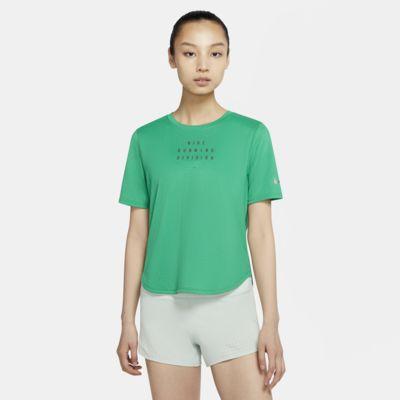 Nike Run Division 女子印花跑步上衣