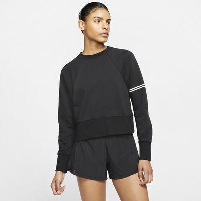 Dámská mikina Nike Pro Dri-FIT Get Fit s kulatým výstřihem