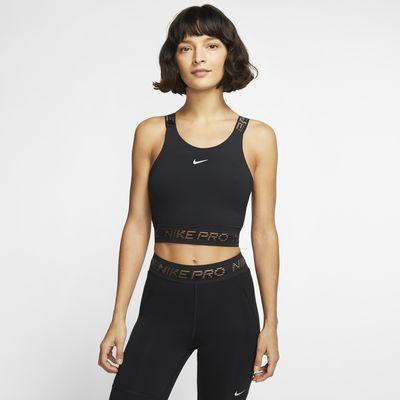 Damska krótka koszulka bez r?kawów Nike Pro