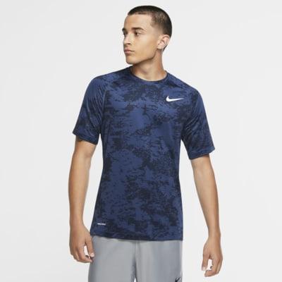 Ahora radical biografía  Camiseta de manga corta de camuflaje para hombre Nike Pro. Nike.com