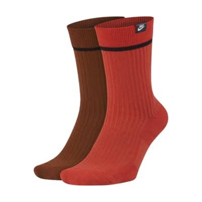 Chaussettes mi-mollet Nike SNKR Sox Essential (2 paires)