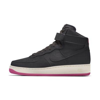 Εξατομικευμένο γυναικείο παπούτσι Nike Air Force 1 High By You
