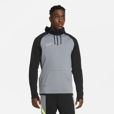 Sweat à capuche de football à 1/4 de zip Nike Dri-FIT Academy pour Homme