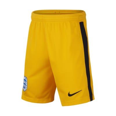 England 2020 Stadium Goalkeeper Older Kids' Football Shorts