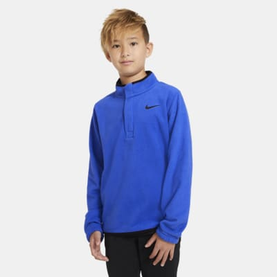 Camiseta de golf para niño Nike Therma Victory