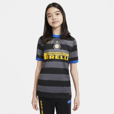 Inter Milan 2020/21 Stadium Third-fodboldtrøje til store børn